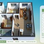 Thiết kế chung cư CT5 CT6 Tứ Hiệp