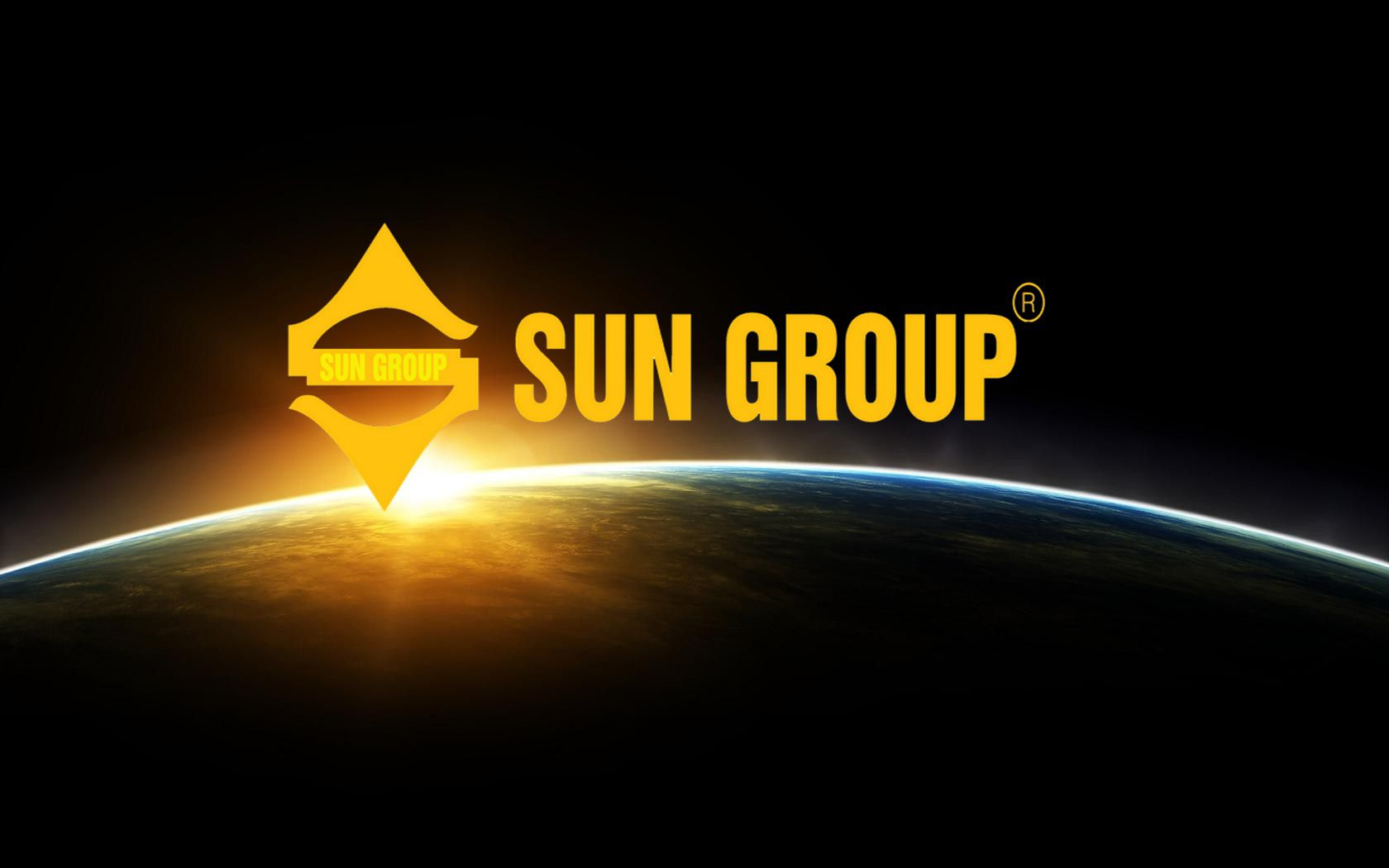 logo tap doan Sun group